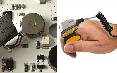 Haptic Feedback Vibration Motor Used For Finger Scanner