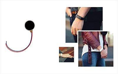 "Small Vibration Motor NFP-C0820L Used For New Kickstarter Project Vibrating Bracelet ""HEY"""
