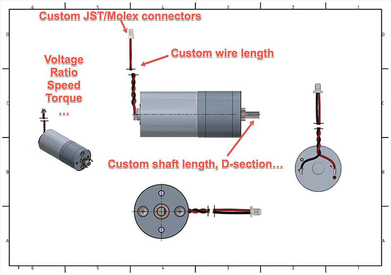 customized-dc-gear-motor
