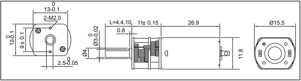 micro-metal-gearmotor-hp-gm13-050sh