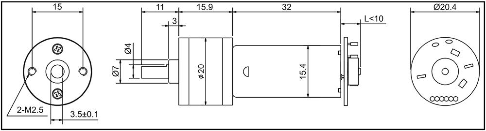 gm20-180sh-encoder-outline-drawing-spec-data-sheet