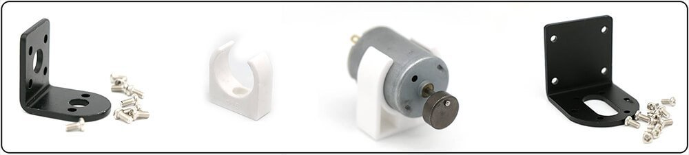 small-vibration-motors-brackets-mounting-sets-with-free-screws